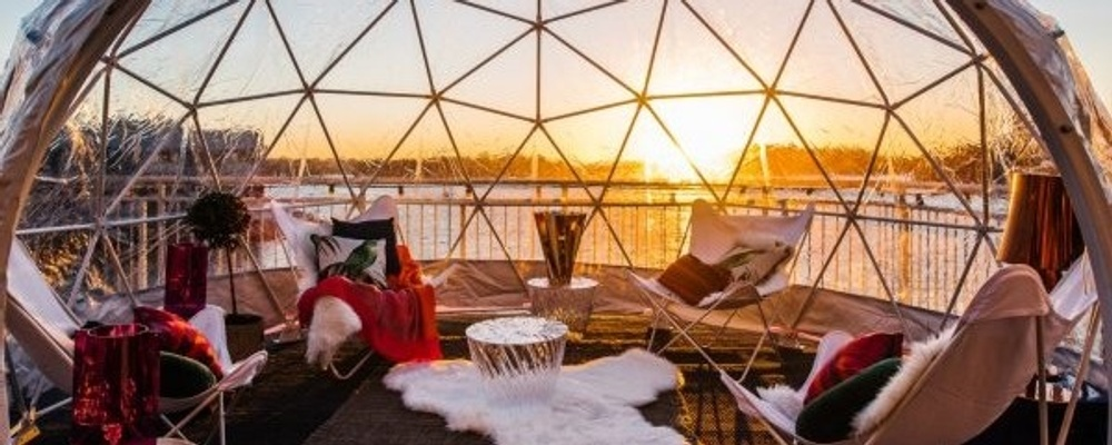 Social Igloo - SocialTable + Pier One - July 20th 2019 Event Banner