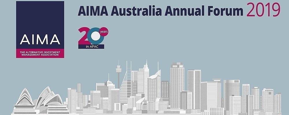 AIMA Australia Annual Forum 2019 Event Banner