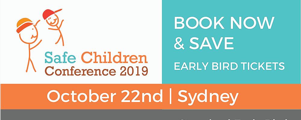 Safe Children Conference 2019 Event Banner