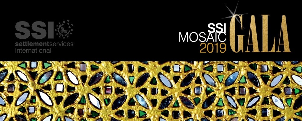 SSI Mosaic Gala 2019 Event Banner