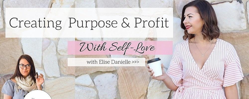 Creating Purpose & Profit with Self-Love // Brisbane Event Banner