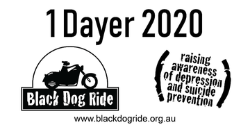 Canberra - ACT - Black Dog Ride 1 Dayer 2020 Event Banner