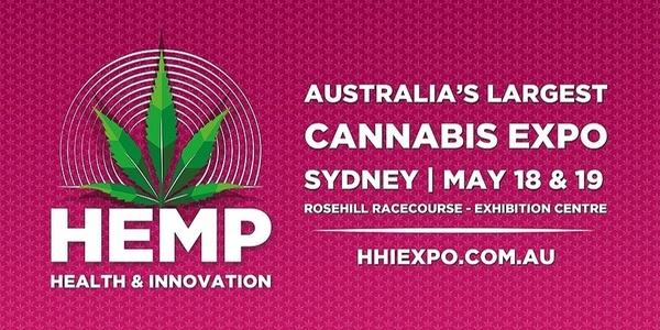 Hemp Health and Innovation (HHI) Sydney 2019 Event Banner