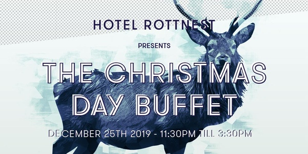 Hotel Rottnest Presents: The Christmas Day Buffet 2019 Event Banner
