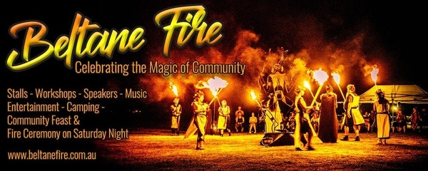 Beltane Fire - The Gathering Event Banner