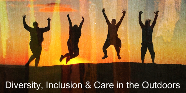 Education Outdoors Conference 2019 : Diversity, Inclusion & Care in the Outdoors Event Banner