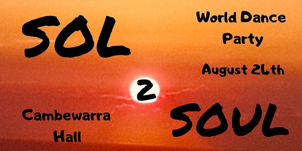 SOL 2 SOUL World Dance Party Event Banner