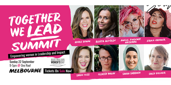 Together We Lead Summit Event Banner