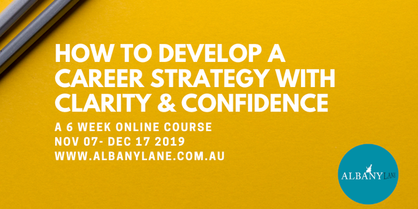 How to Develop a Creative Career Strategy with Clarity & Confidence Event Banner