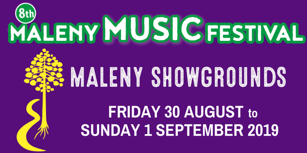 Maleny Music Festival 2019 Event Banner