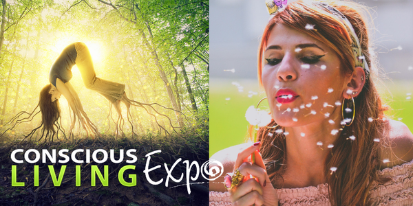 Conscious Living Expo Event Banner