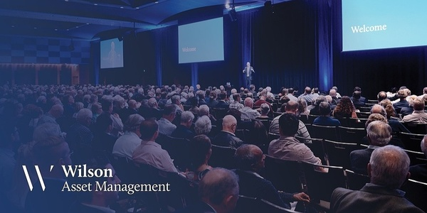 Wilson Asset Management Shareholder Presentation Brisbane Event Banner