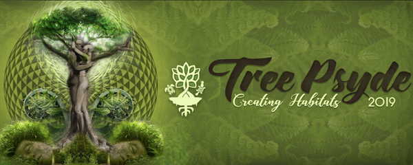 Tree Psyde 2019 – Creating Habitats Event Banner