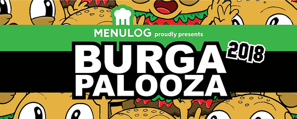 BURGAPALOOZA 2018 presented by Menulog Event Banner