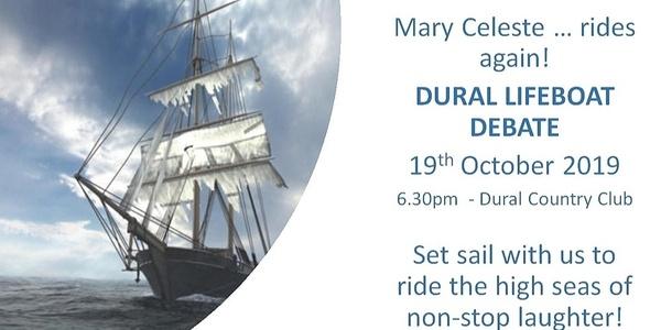 Dural Lifeboat Debate Event Banner