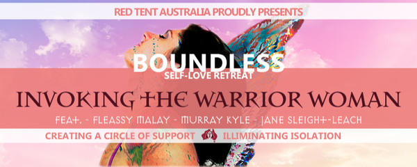 Boundless Self-Love Retreat: Invoking The Warrior Woman Event Banner