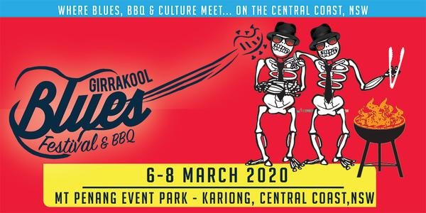 Girrakool Blues Festival & BBQ 2020 Event Banner
