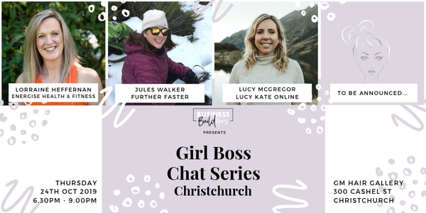 Girl Boss Chat Series CHC Event Banner