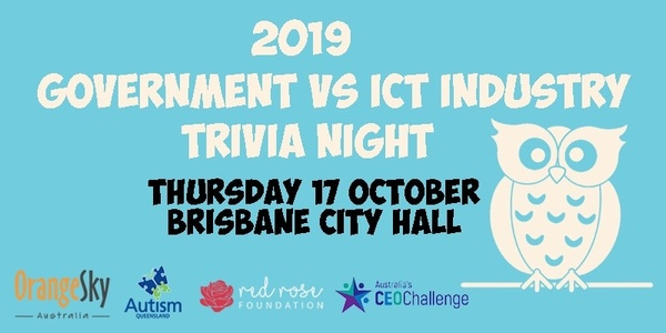 2019 Government vs ICT Trivia Night - October 2019 Event Banner