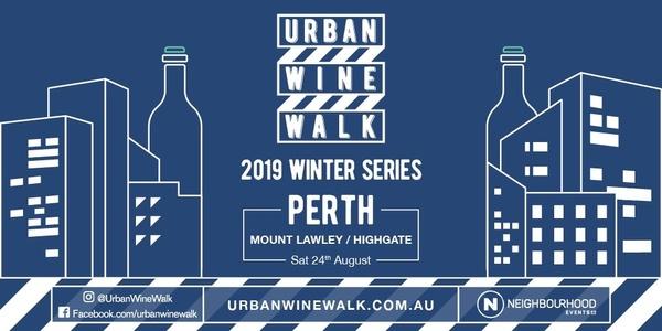 Urban Wine Walk (Mt Lawley / Highgate) Event Banner