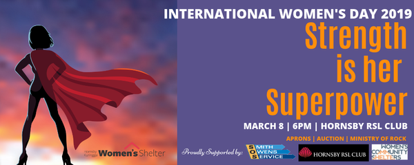 Strength is her Super Power Event Banner