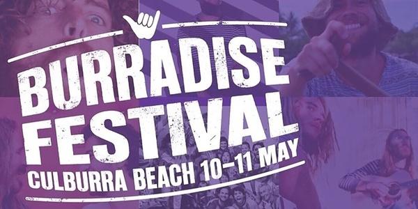 Burradise 2019 Event Banner