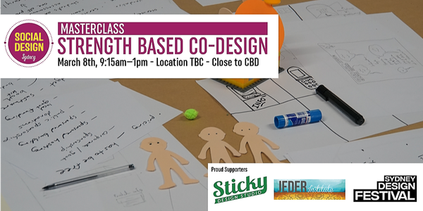 Strength-based Co-design Event Banner