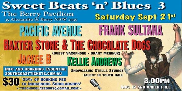 Sweet Beats'n'Blues 3 Event Banner