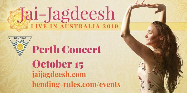Jai-Jagdeesh Live in Concert (Perth, Western Australia) Event Banner