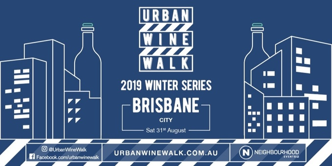 Urban Wine Walk Brisbane (City) Event Banner