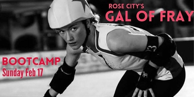 SRDL presents Gal of Fray Bootcamp Event Banner
