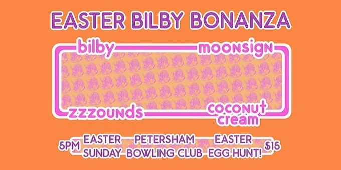 BILBY EASTER BONANZA Event Banner
