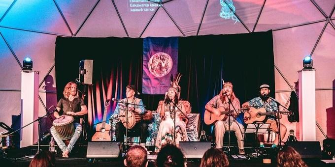 Bird Tribe - Brazilian Medicine Music Event Banner
