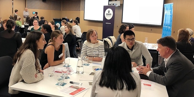 Global work, study, volunteering - find out more at our Speed Date Mentoring event Event Banner