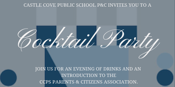 CCPS P&C Cocktail Party Event Banner