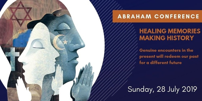 2019 Abraham Conference: Healing Memories, Making History Event Banner