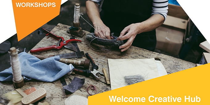 Welcome Creative Hub Event Banner