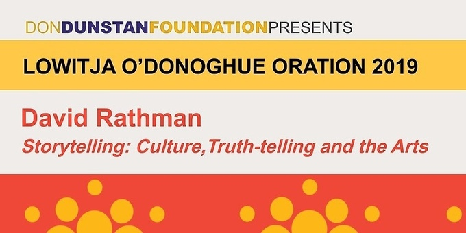 Lowitja O'Donoghue Oration 2019 Event Banner