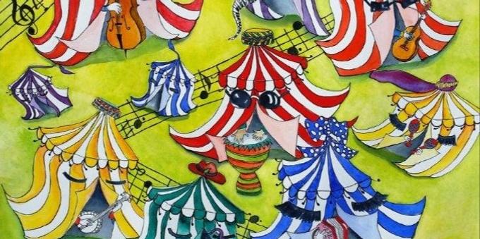 35th Illawarra Folk Festival 16-19 January 2020 Event Banner