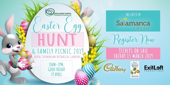 2019 Easter Egg Hunt & Family Picnic Event Banner