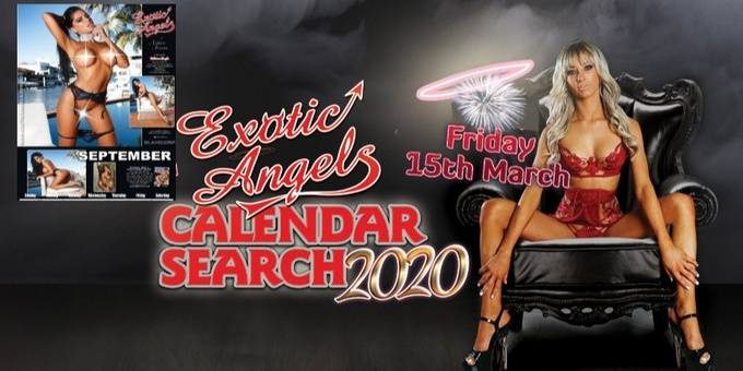 Exotic Angels NUDE Calender Search Event Banner