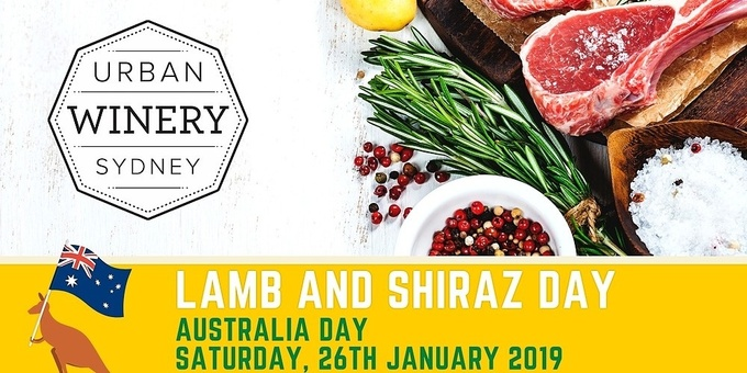Lamb and Shiraz Day Event Banner