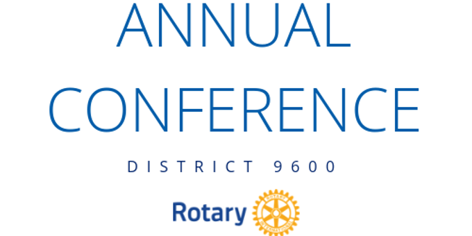 District 9600 2019 Conference Event Banner
