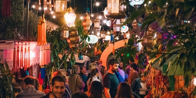 The Ground's Arabian Night Markets Event Banner
