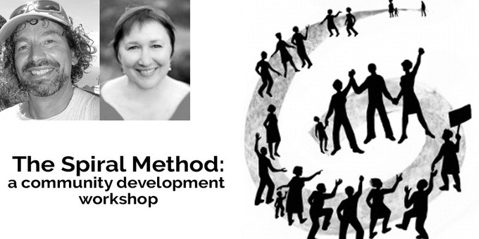The Spiral Method: a community development workshop - North West Event Banner