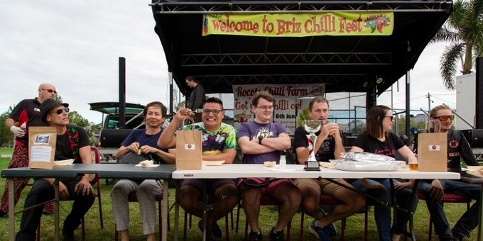 BRIZ CHILLI FEST EATING COMPETITIONS REGISTRATION Event Banner