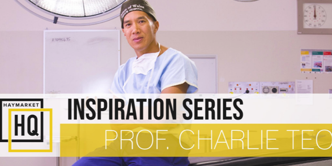 HHQ Inspiration Series: Charlie Teo Event Banner