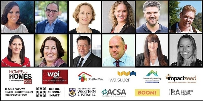 2019 Forum on Housing-Impact Investment in WA Event Banner