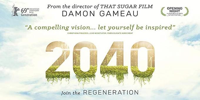 2040 Film Screening Alice Springs Event Banner