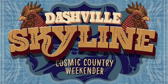 Dashville Skyline - Cosmic Country Weekender 2019 Event Banner